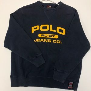 Vintage* Polo Jeans Ralph Lauren spell-out Sweater